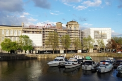 The General & Iron Foundry scaffolded - May 2016