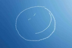 A smile in the sky over Bristol - May 2020
